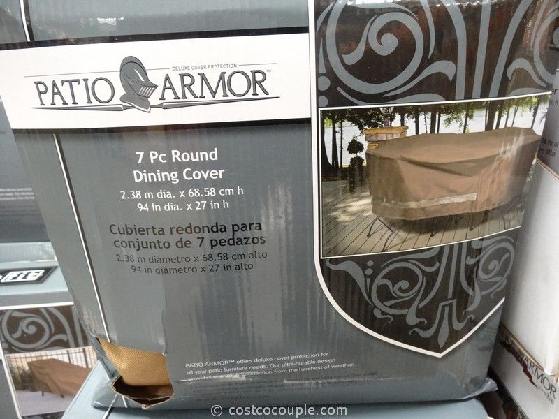 Patio Armor Round Dining Cover Costco