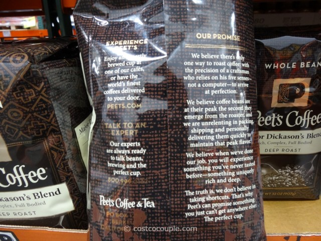 Peet's Coffee Major Dickason's Blend Costco 3