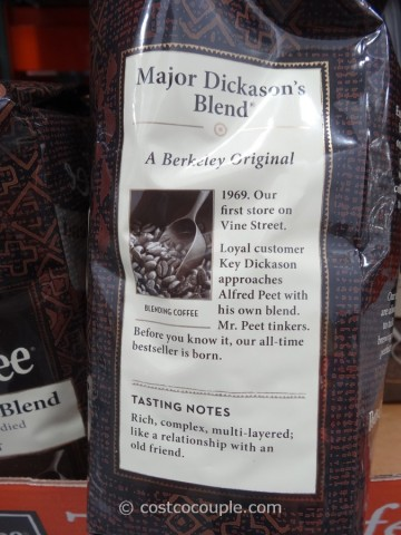 Peet's Coffee Major Dickason's Blend Costco 4