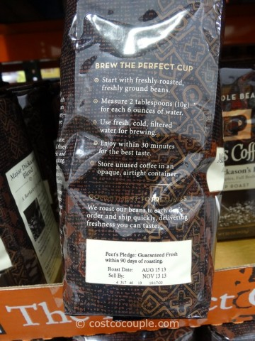 Peet's Coffee Major Dickason's Blend Costco 5