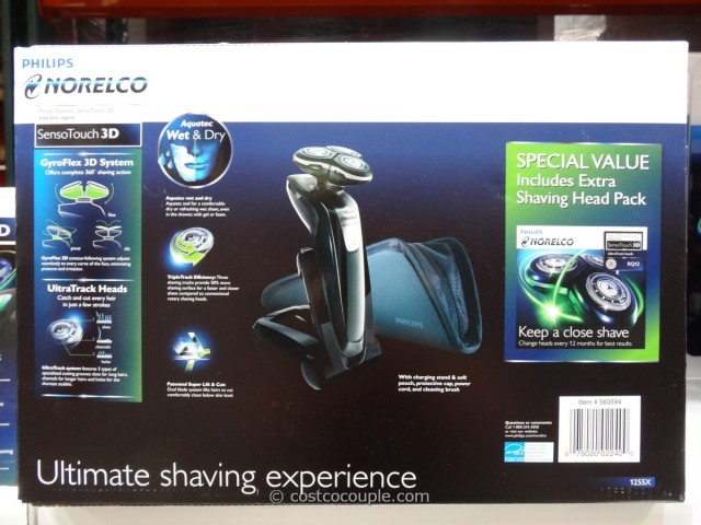 Philips Norelco SensoTouch 3D Shaver Costco 2