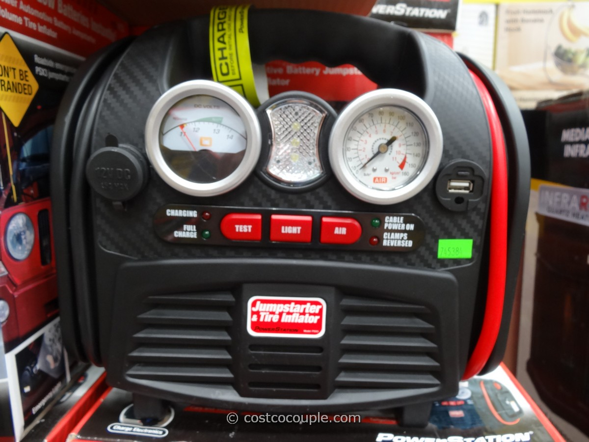 Car Battery Costco >> Powerstation PSX3 Portable Jumpstarter