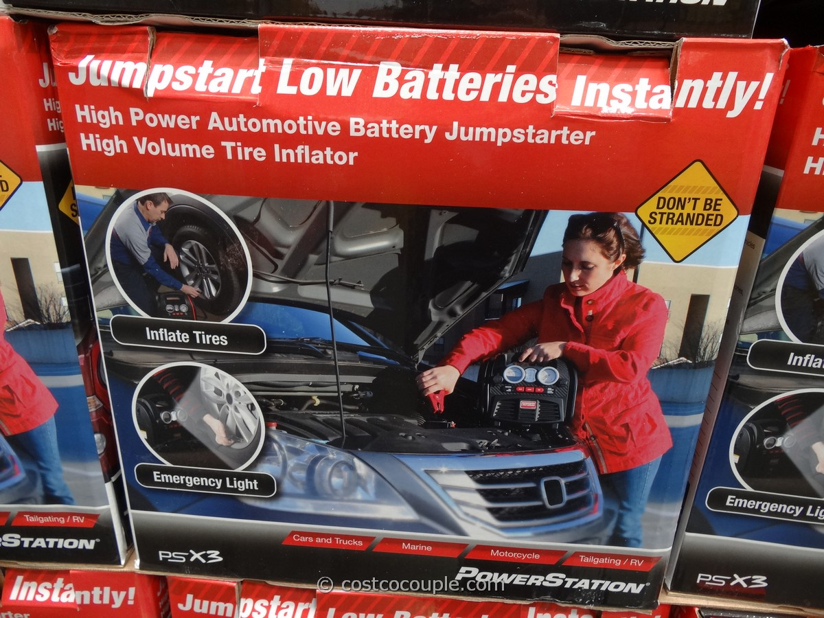 Powerstation PSX3 Portable Jump Start Costco 4