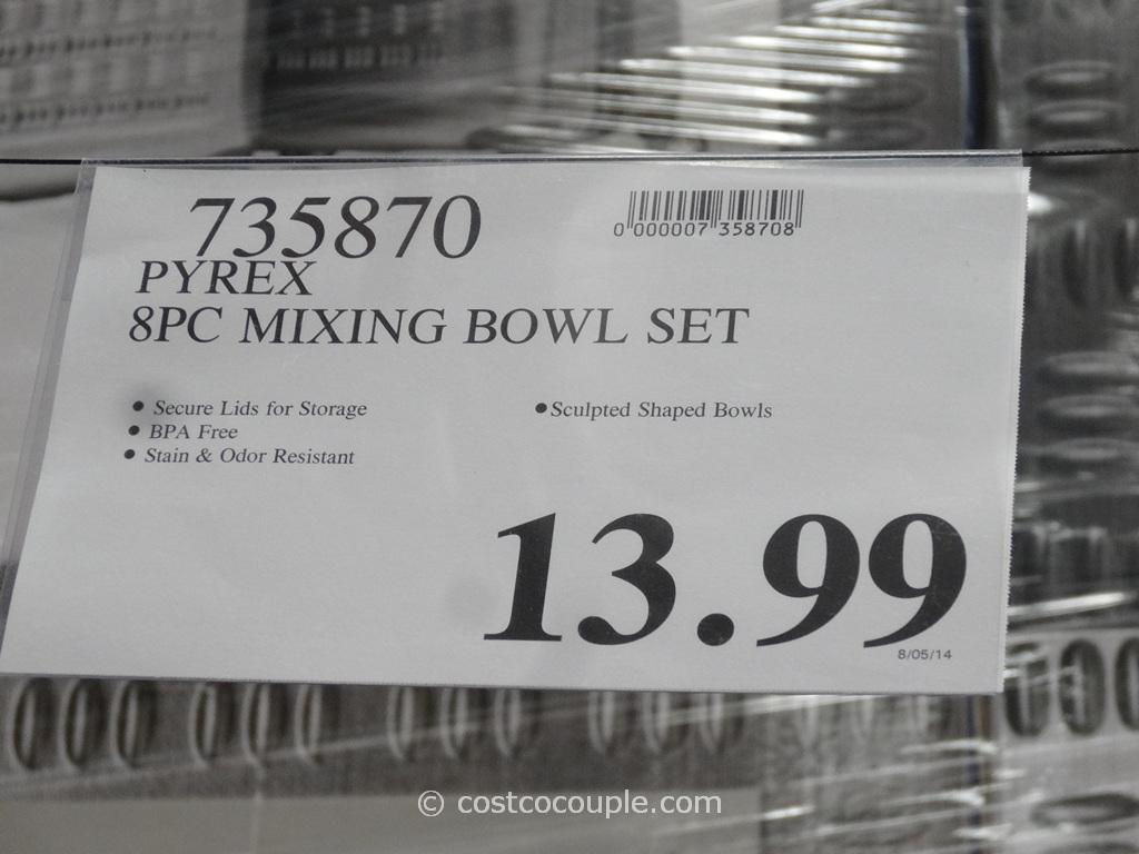 Pyrex Glass Bowl Set