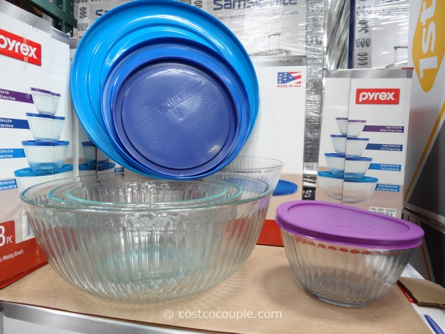 Pyrex 8-Piece Mixing Bowl Set Costco 2