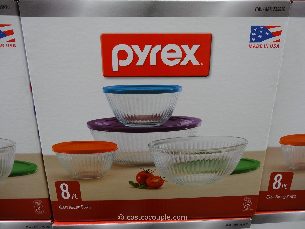 Pyrex Glass Bowl Set Costco 2