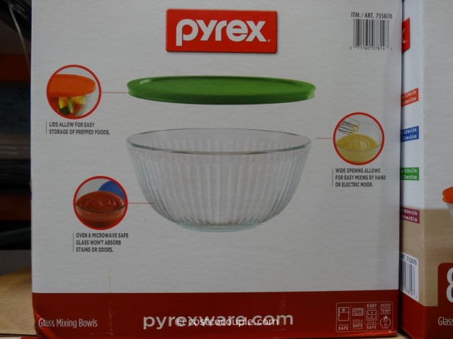 Pyrex Glass Bowl Set Costco 4