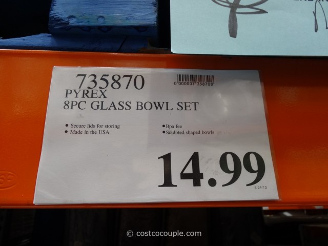 Pyrex Glass Bowl Set Costco 5