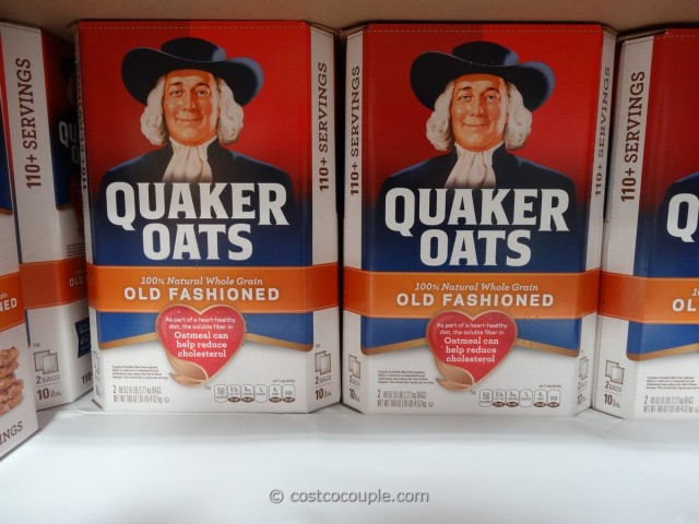 Quaker Old-Fashioned Oatmeal Costco 1