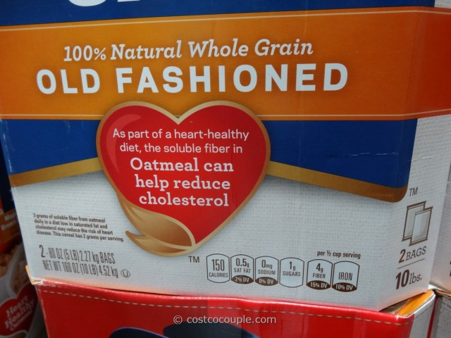Quaker Old-Fashioned Oatmeal Costco 3