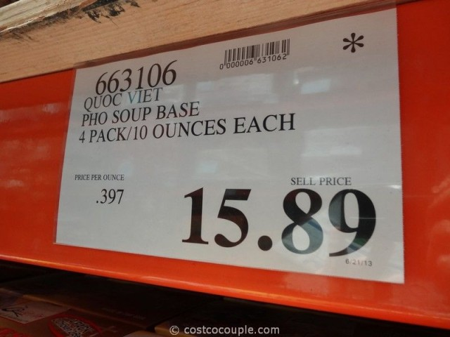 Quoc Viet Pho Soup Base Costco