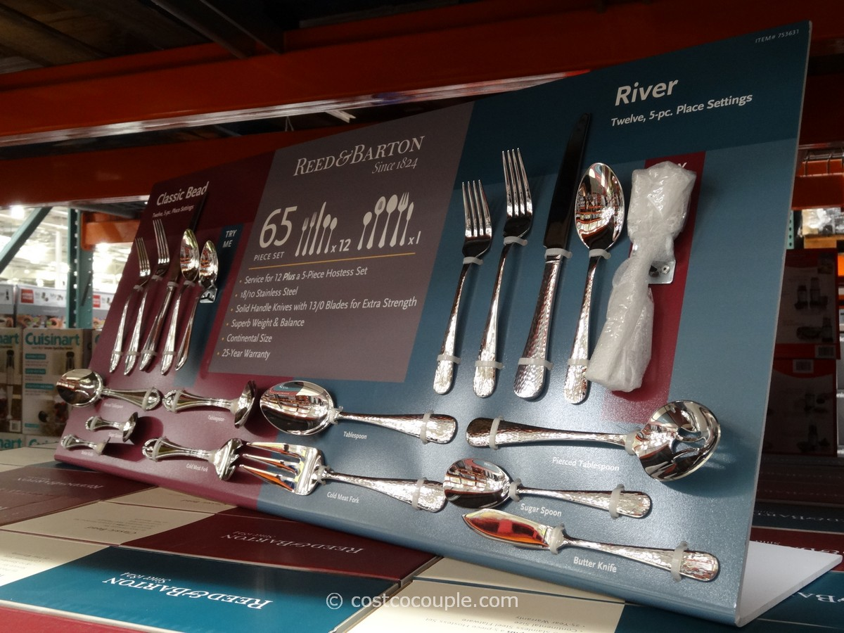 Reed and Barton Flatware Set Costco 1