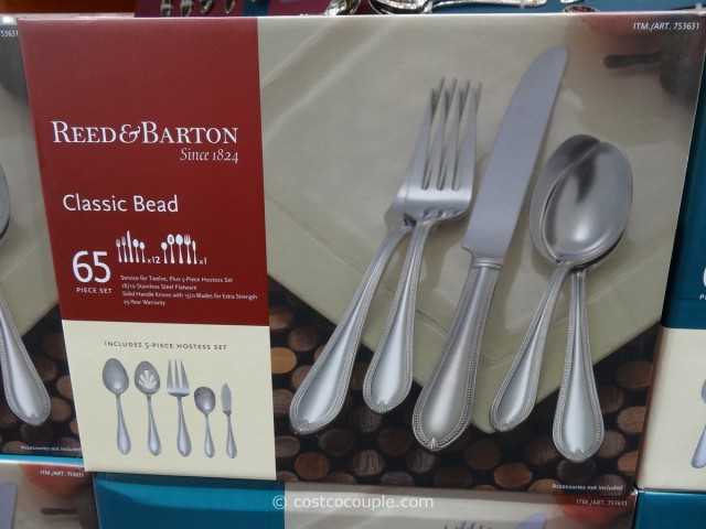Reed And Barton Flatware Set