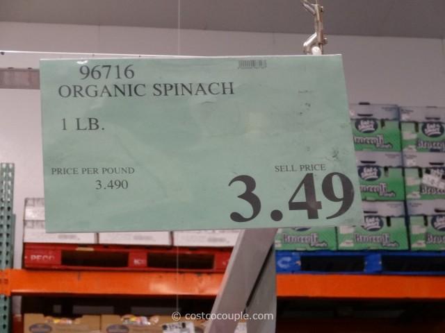 River Ranch Organic Baby Spinach Costco 2