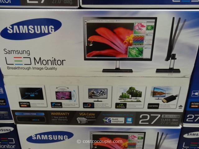 Samsung 27-Inch LED Monitor LS27C570HS Costco 3
