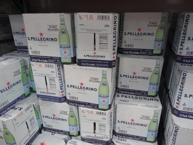 San Pellegrino Sparkling Mineral Water Costco 1