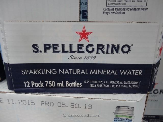 San Pellegrino Sparkling Mineral Water Costco 2