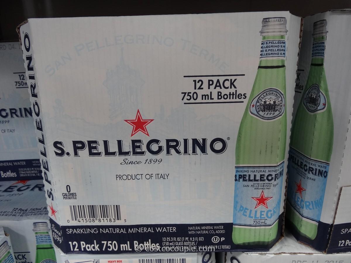 San Pellegrino Sparkling Mineral Water Costco 5