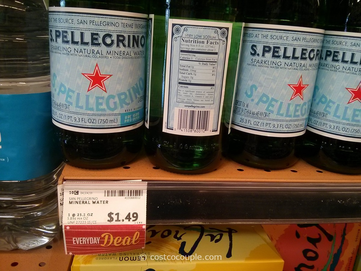 San Pellegrino Sparkling Mineral Water Whole Foods
