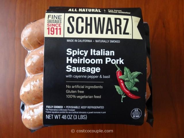 Schwarz Spicy Italian Sausage Costco 2
