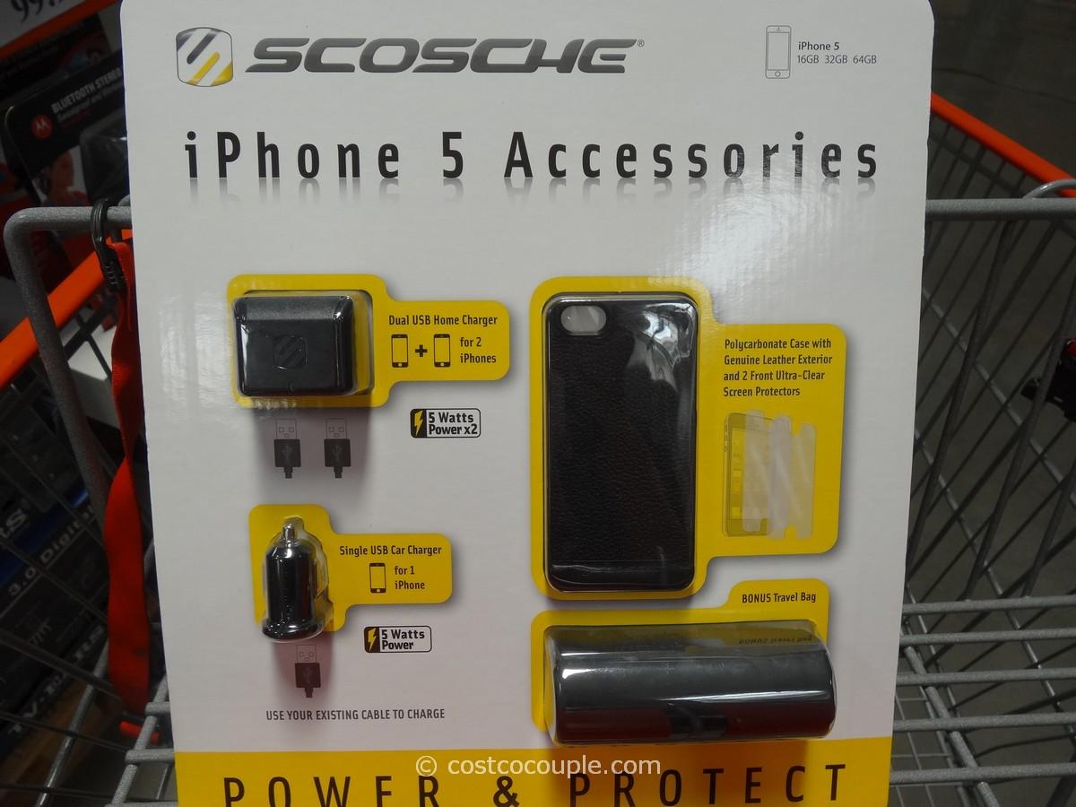 Scosche iPhone5 Accessory Kit Costco 2
