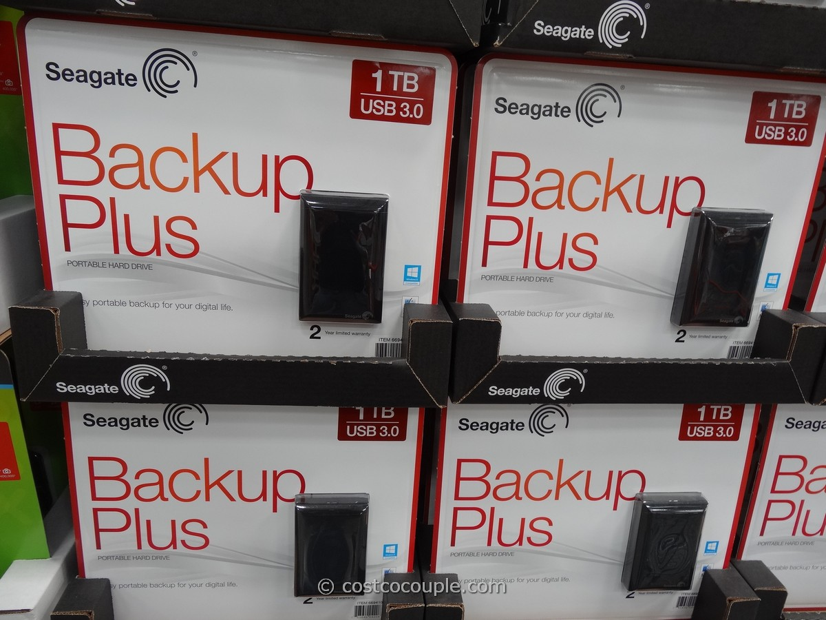 Seagate 1TB Backup Plus Portable Hard Drive Costco 1