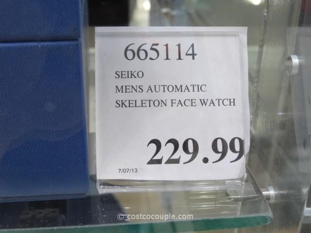 Seiko Automatic Skeleton Costco