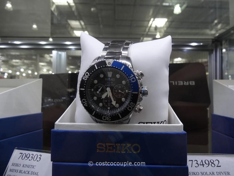 Seiko Solar Diver Watch