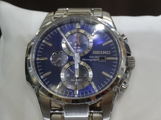 Seiko Solar Power Dial Watch Costco 2