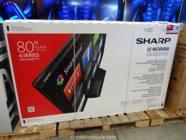 Sharp 80-Inch LED TV Costco