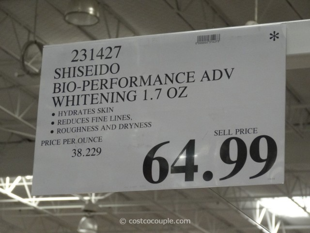 Shiseido Bio-Performance Whitening Formula Costco 3