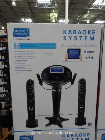 Singing Machine Karaoke System Costco 1