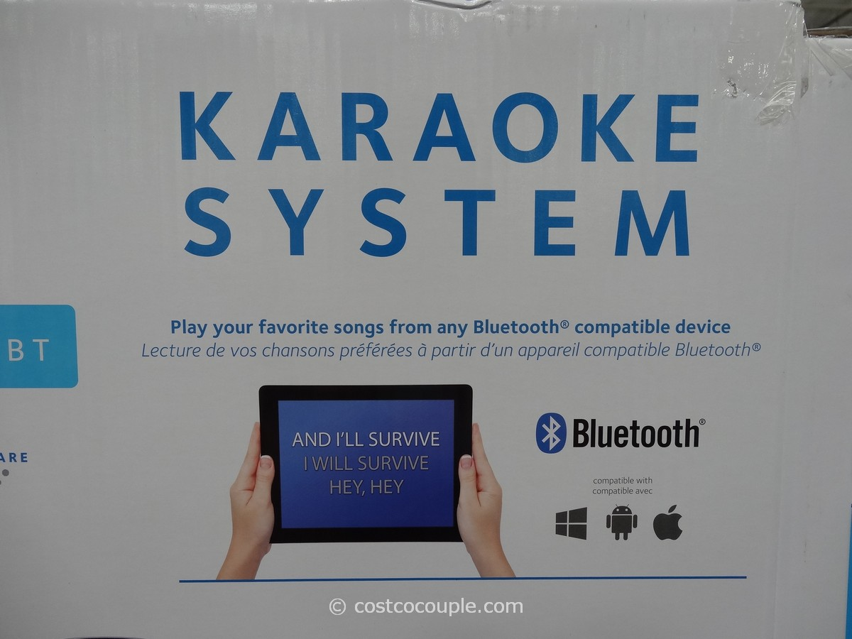 costco karaoke machine singing machine