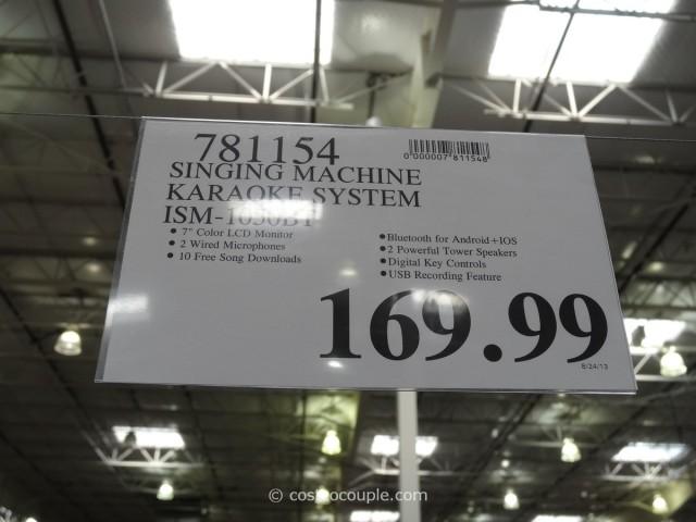 Singing Machine Karaoke System Costco 5