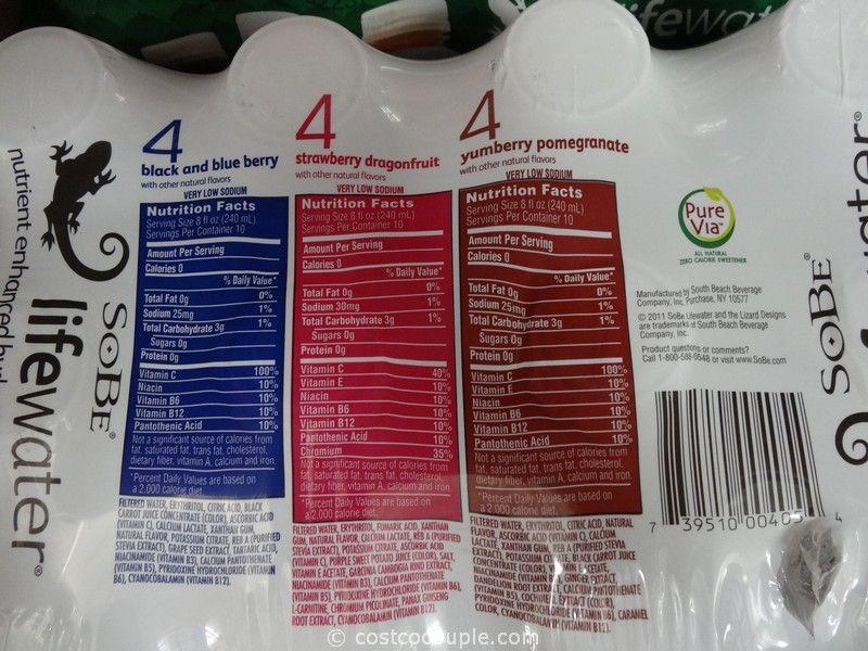 Sobe life water coupons 2018