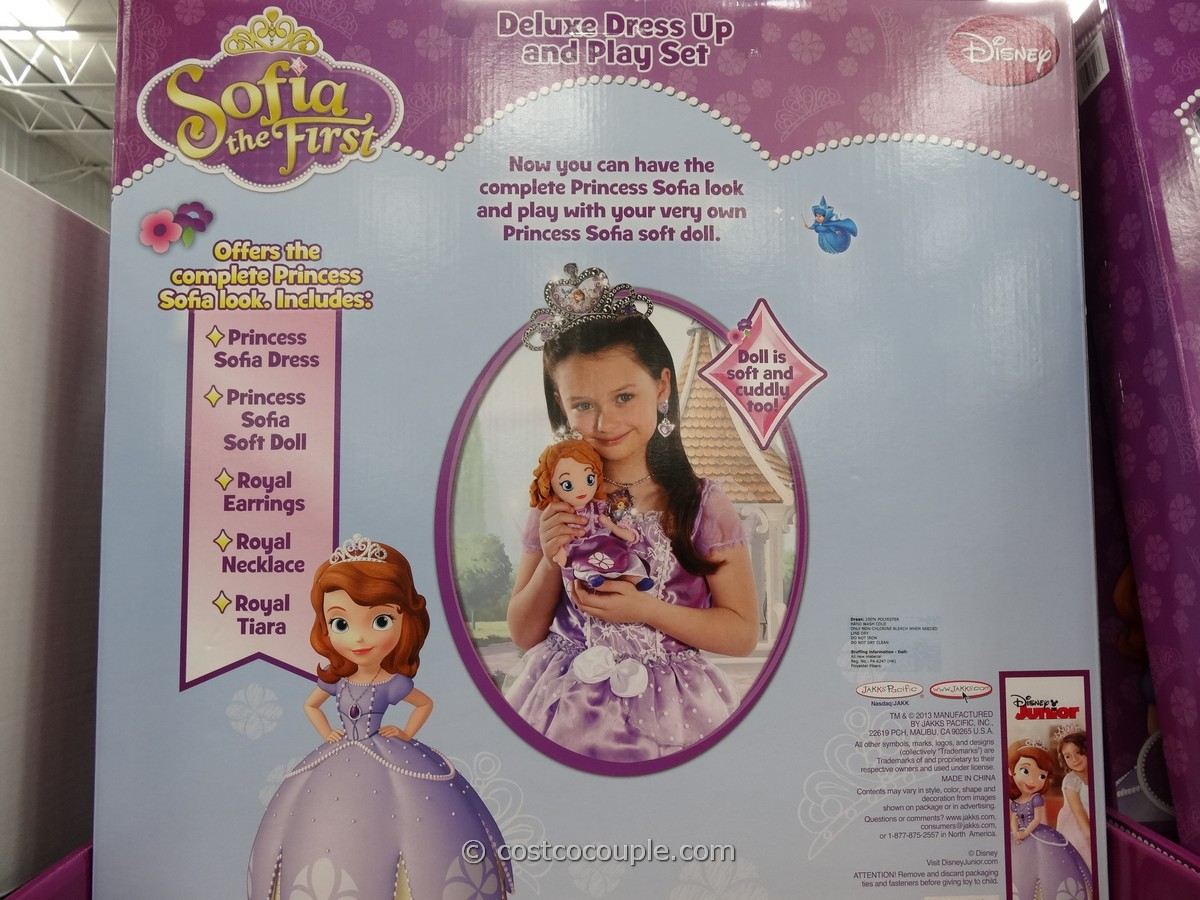 Sofia The First Dress And Doll Gift Set