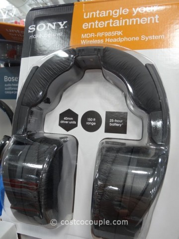 Sony Wireless RF Headphones Costco