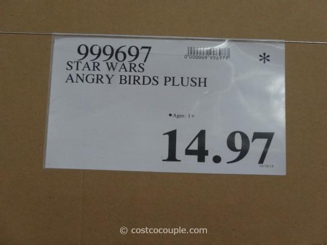 Star Wars Angry Birds Plush Costco