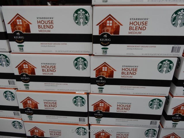 Starbucks House Blend K-Cups Costco 1