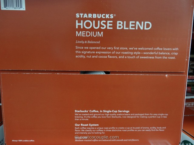 Starbucks House Blend K-Cups Costco 3