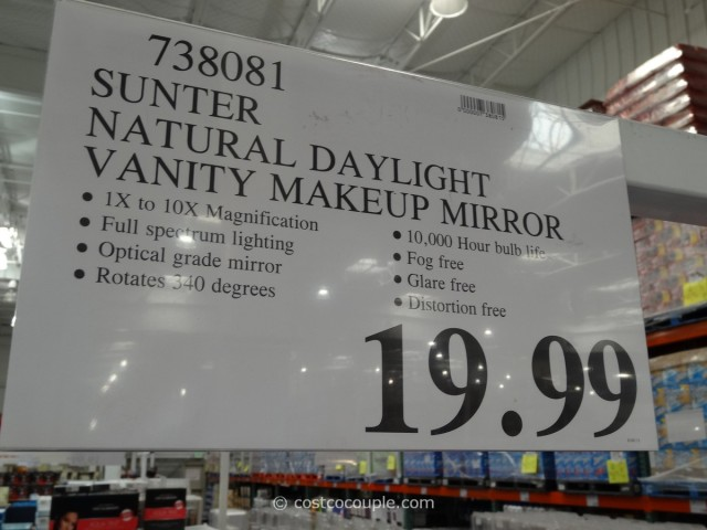 Sunter Natural Daylight Vanity Mirror