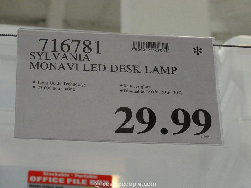 Sylvania Monavi LED Desk Lamp Costco - Sylvania Monavi LED Desk Lamp