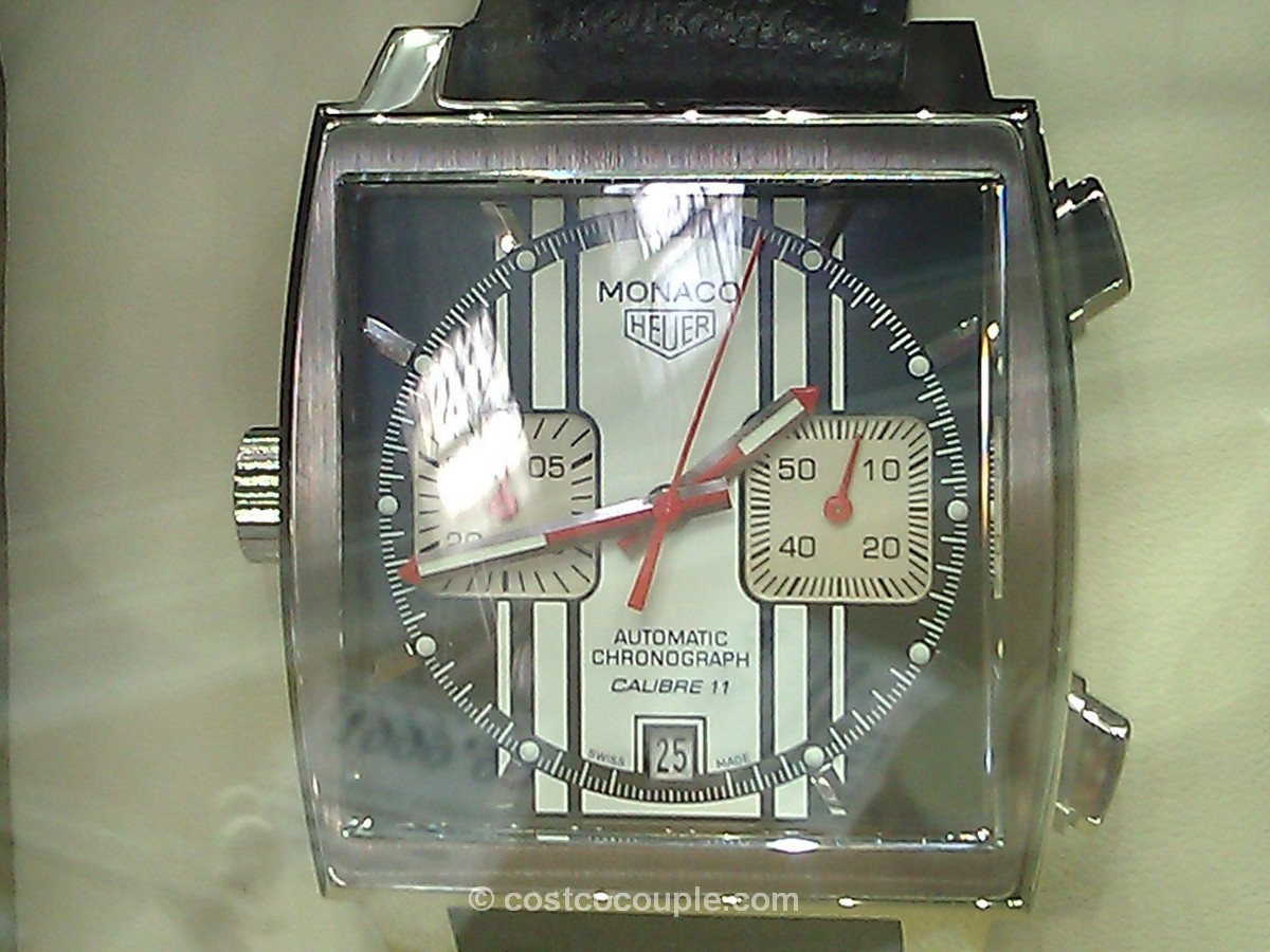 TAG Heuer Monaco Men's Automatic Chronograph Watch Costco
