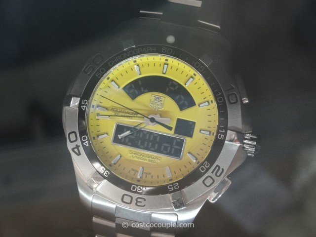 Tag Heuer Aquaracer Analog and Digital Dial Costco 1