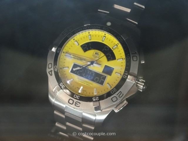 Tag Heuer Aquaracer Analog and Digital Dial Costco 2