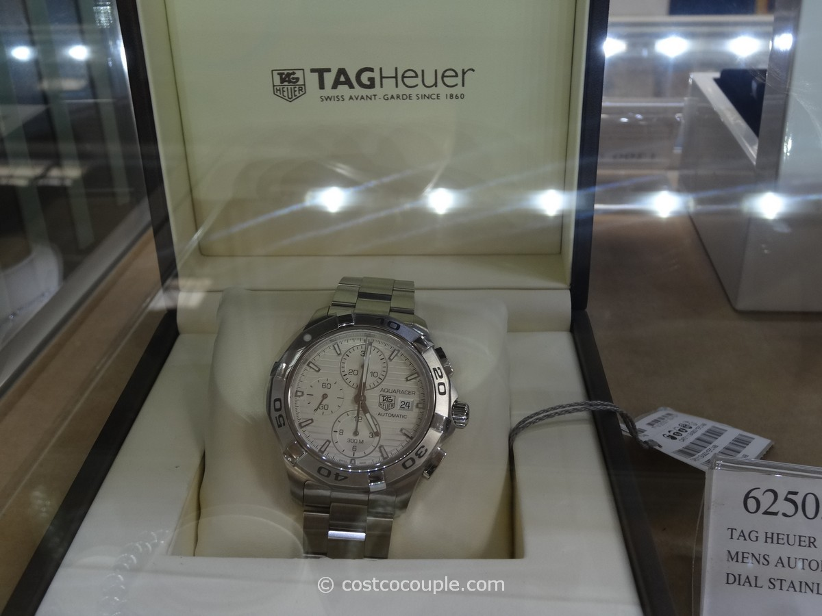 Tag Heuer Aquaracer White Dial Watch Costco 3