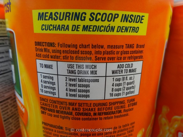 Tang Orange Drink Costco 2
