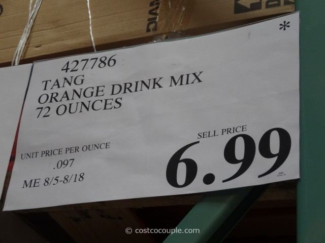 Tang Orange Drink Costco 5