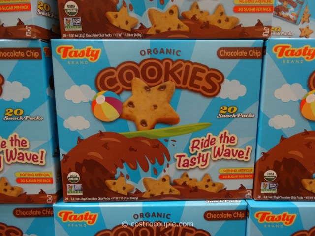Tasty Brand Organic Chocolate Chip Cookies Costco 1