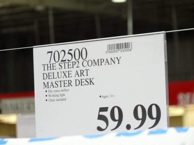 The Step2 Company Deluxe Art Master Desk